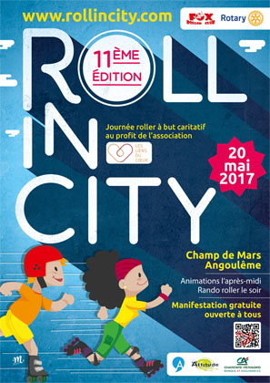 affiche roll in city 2017