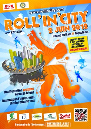 affiche roll in city 2012