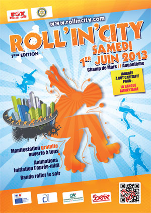 affiche roll in city 2013