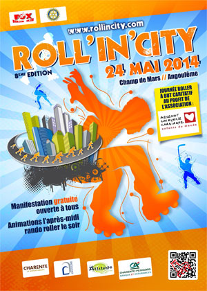 affiche roll in city 2014