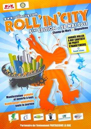 affiche roll in city 2011