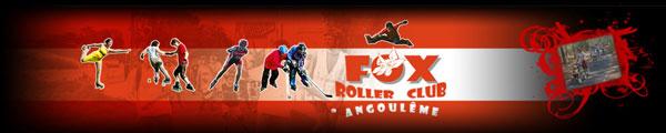 bannière du Fox Roller Club d'Angoulême