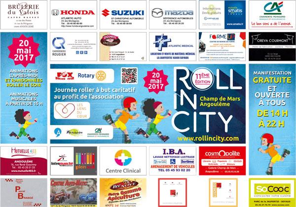 set de table roll in city 2017
